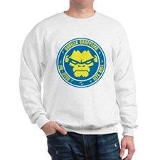 Lets Roll Blue Circle Sweatshirt