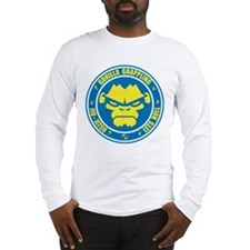 Lets Roll Blue Circle Long Sleeve T-Shirt