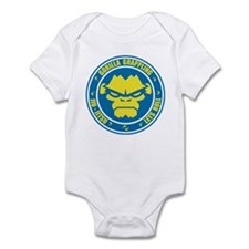 Lets Roll Blue Circle Infant Bodysuit