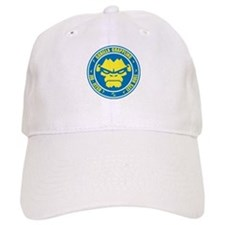 Lets Roll Blue Circle Baseball Cap
