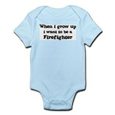 Be A Firefighter Infant Creeper