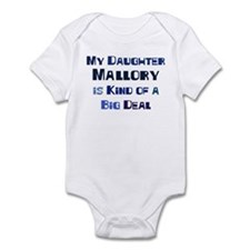 My Daughter Mallory Infant Bodysuit