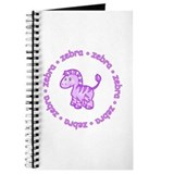 ZooBaby Zebra Journal