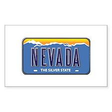 Nevada Rectangle Decal