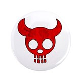 "Red Dead Devil 3.5"" Button"