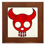 Red Dead Devil Framed Tile