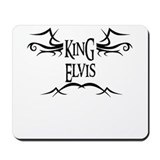 King Elvis Mousepad