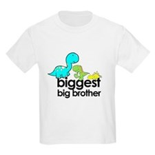 biggest big brother t-shirt dinosaur T-Shirt