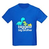 biggest big brother t-shirt dinosaur  T
