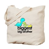biggest big brother t-shirt dinosaur Tote Bag