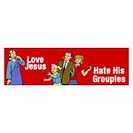 Love Jesus Bumper Sticker (10 pk)