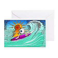 Eye Surf - Greeting Card