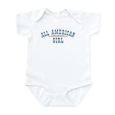 All American Girl Infant Bodysuit