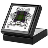 Baird Tartan Shield Keepsake Box