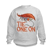 Fly Tying Kids Sweatshirt