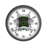 Armstrong Tartan Shield Wall Clock