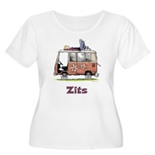 Jeremy VW Van Women's Plus Size Scoop Neck T-Shirt