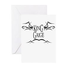 King Gaige Greeting Card
