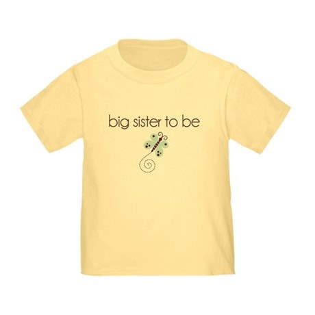 big sister to be dragonfly Toddler T-Shirt