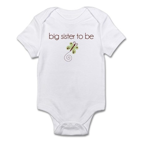 big sister to be dragonfly Infant Bodysuit