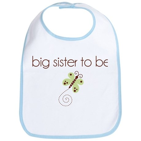 big sister to be dragonfly Bib