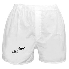 Airplane Evolution Boxer Shorts