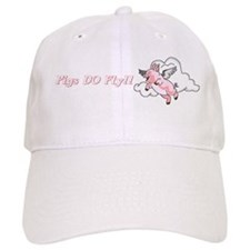 Pigs do fly Baseball Cap