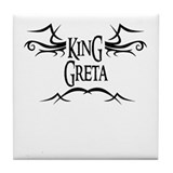 King Greta Tile Coaster