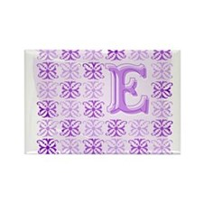 "Monogrammed ""E"" Rectangle Magnet"