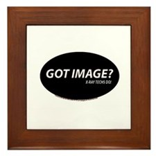 Got Image X-ray Techs Framed Tile