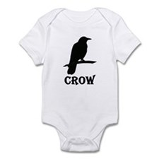Black Crow Infant Bodysuit