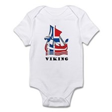 Norway Viking Infant Bodysuit