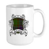 Adams Tartan Shield Mug