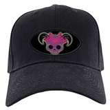 Girl Skull w/Tails Baseball Hat