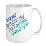 No thank you Large Mug