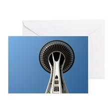 Seattle Space Needle - Greeting Cards (Pk of 10)