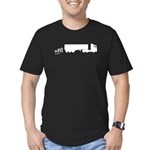 Truck Evolution Men's Fitted T-Shirt (dark)
