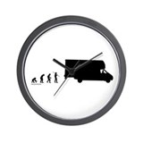 RV Evolution Wall Clock