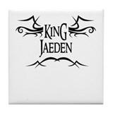 King Jaeden Tile Coaster