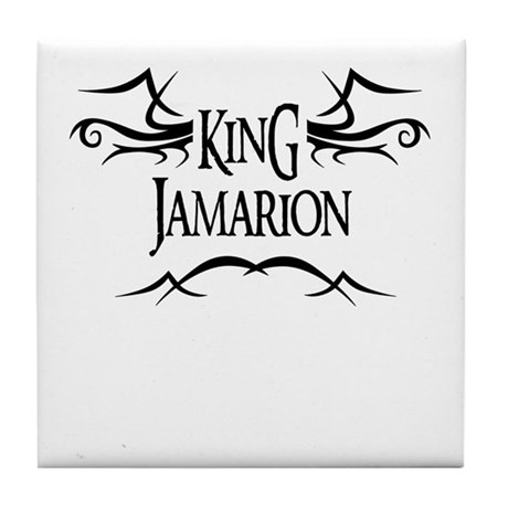 King Jamarion Tile Coaster
