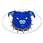 Tenacious Toys Danger Oval Sticker 50-Pack