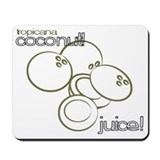 Coconut Juice! Mousepad