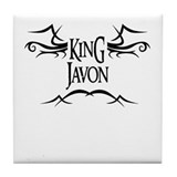 King Javon Tile Coaster