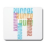 Run Off Variety Mousepad
