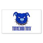 Tenacious Rectangle Sticker 50 Pk)