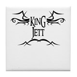 King Jett Tile Coaster