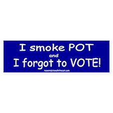 I Forgot to Vote (blue)