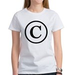 Copyright Symbol Women's T-Shirt
