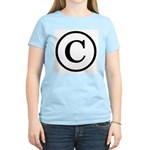 Copyright Symbol Women's Light T-Shirt