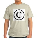 Copyright Symbol Light T-Shirt